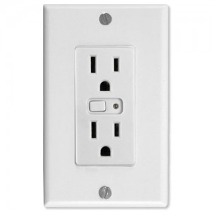 GE Jasco Smart Outlet with Z-wave