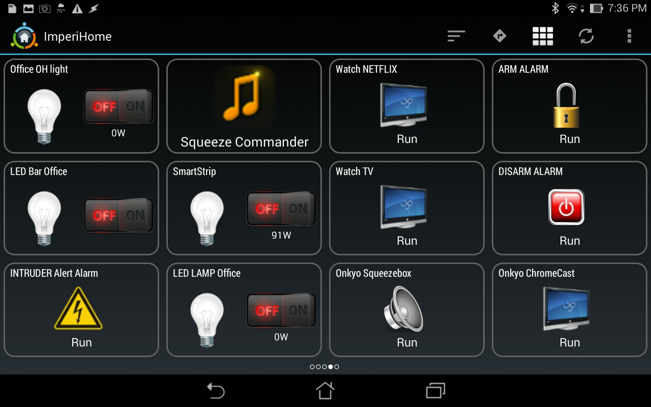 Imperihome Smarthome Control App Review Myzwave Net